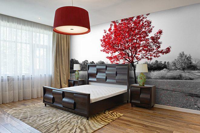Fototapete baum schlafzimmer - Baum fur wohnzimmer ...