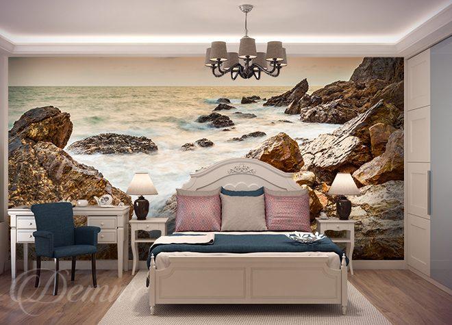 Traum des Meerschaums - für Schlafzimmer - Fototapeten - Demur