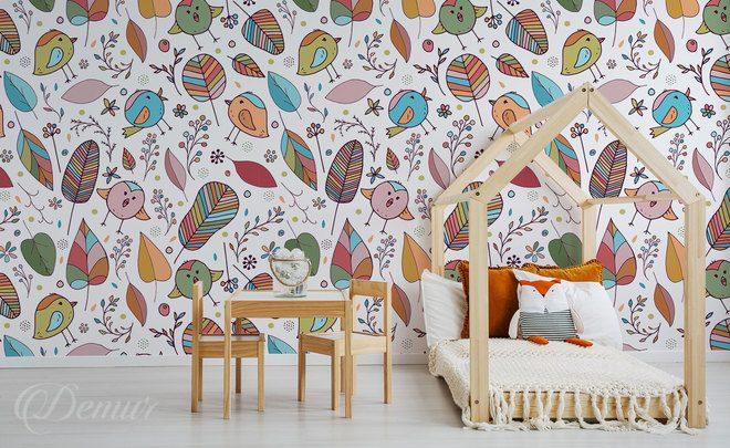 Tapeten für Kinderzimmer • Demur®