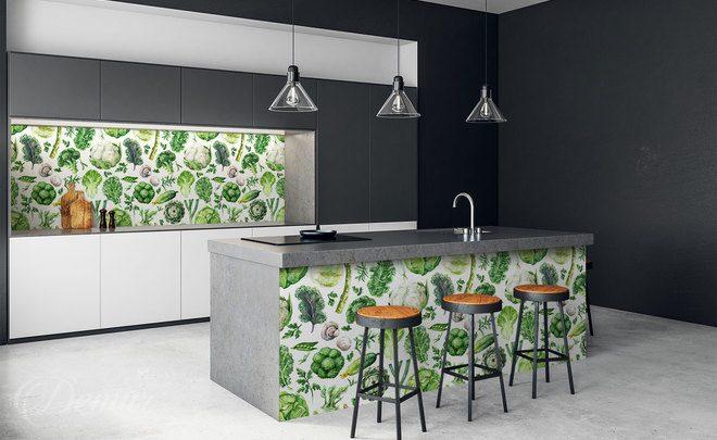 Tapeten für Küche • Demur®